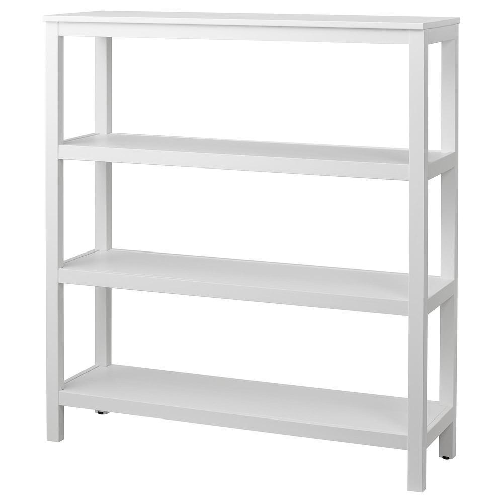 Witte Boekenkast Ikea.Hemnes Boekenkast Witte Vlek