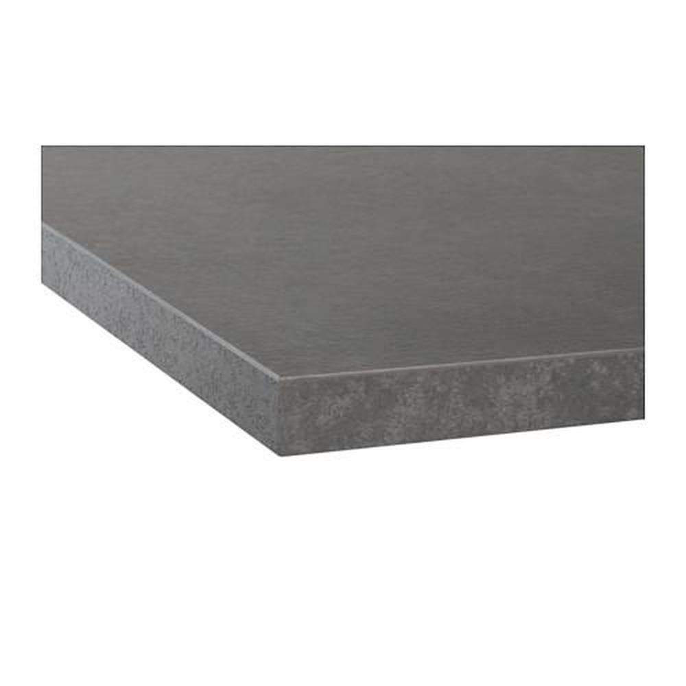 Ekbacken Plan De Travail Pour Beton Stratifie 63 5x246 Cm