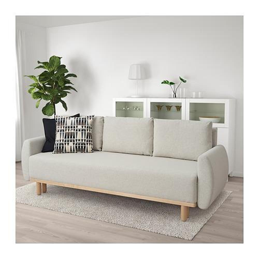 GRUNNARP 3-seat sofa-bed (604.366.74) - reviews, price, where to buy