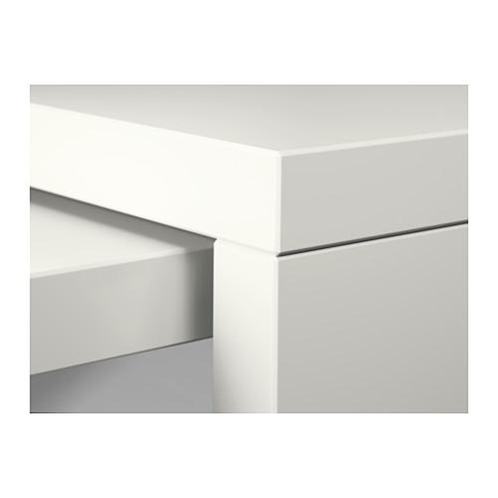 MALM skrivebord med skuffhvit 151x65x73 cm (702.141.92