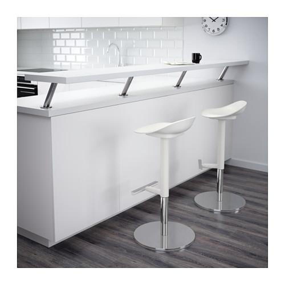 Janinge White Bar Stool 702 460 89 Reviews Price