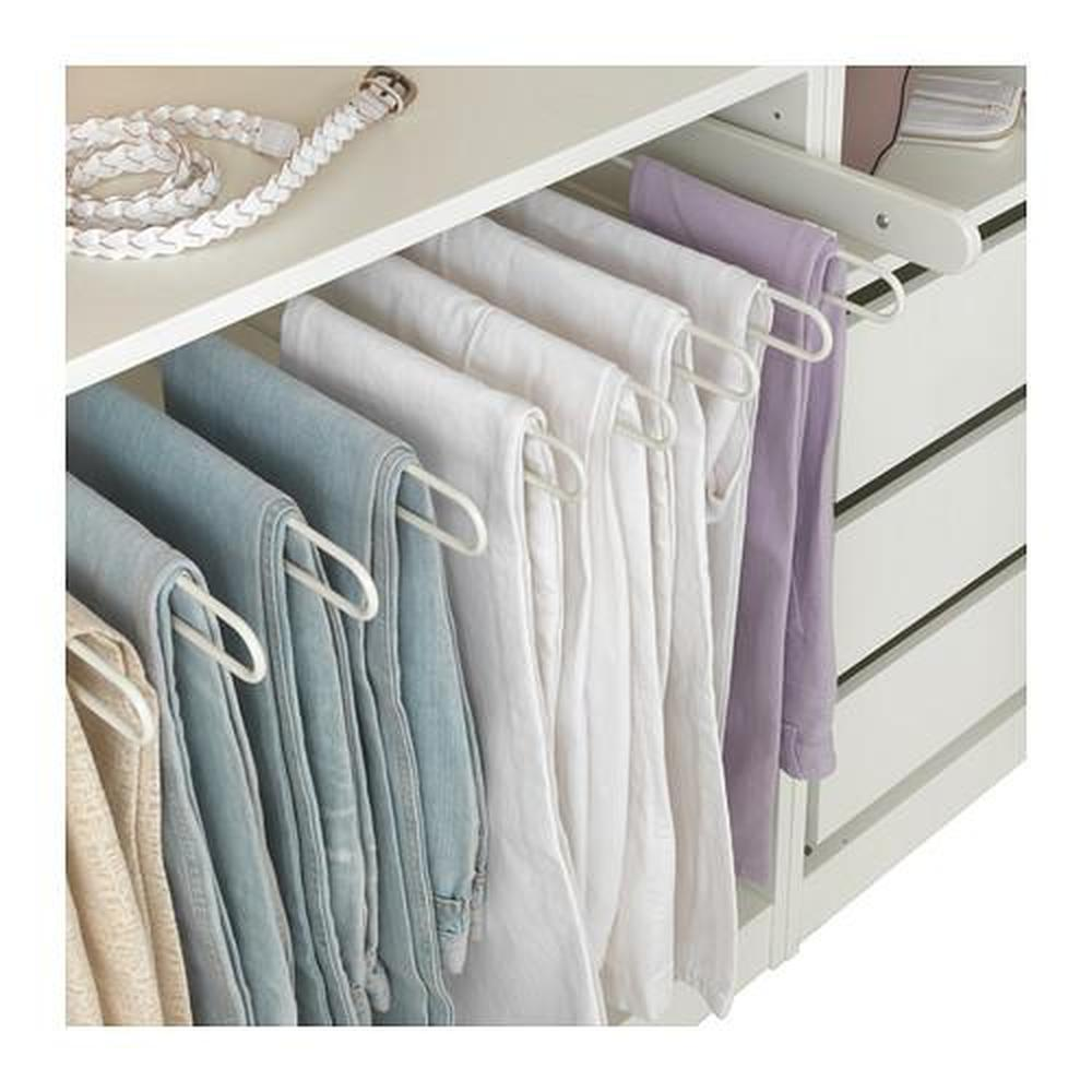 KOMPLEMENT porta pantaloni estraibile bianco 93.1x56.9x4.5 cm