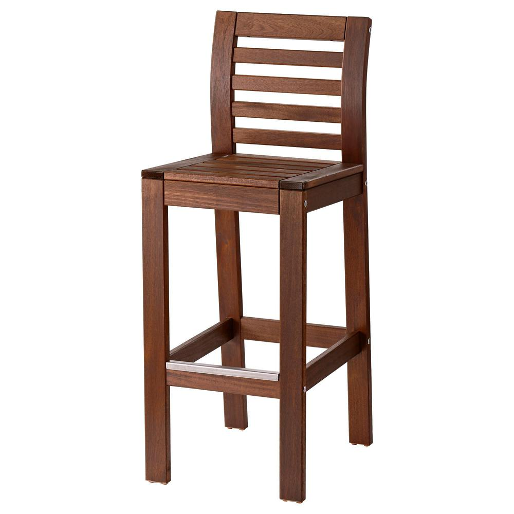 Excellent pplar kruk tuin with ligstoel tuin ikea for Ikea houten stoel