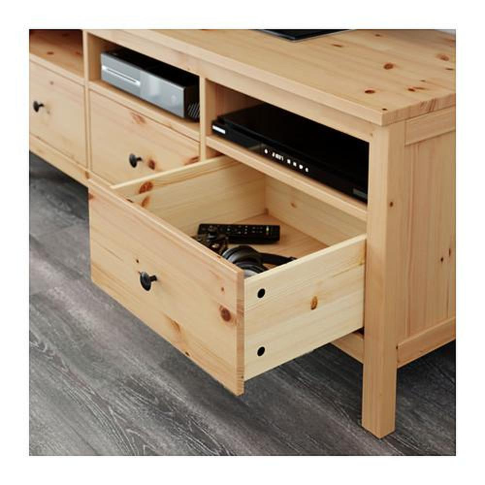hemnes tv stand light brown - Light Colored Tv Stands