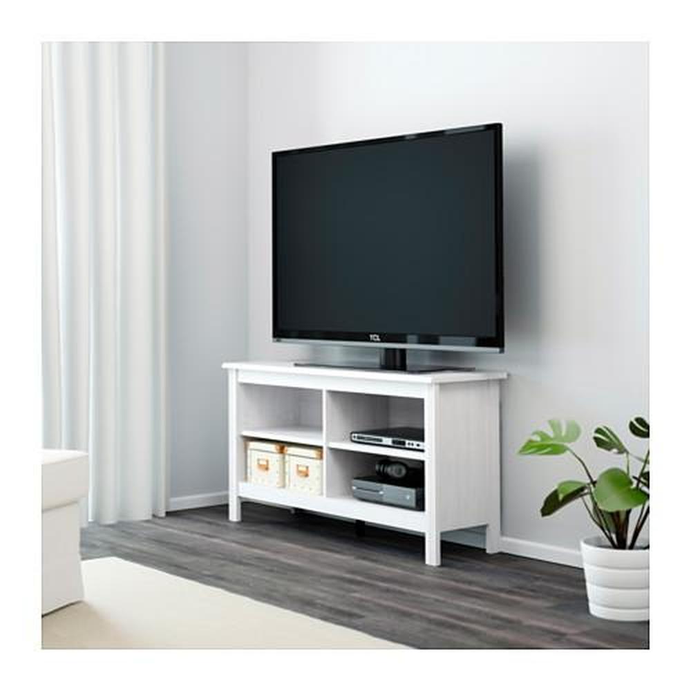 Porta Tv Ikea Bianco.Porta Tv Brusali Bianco 120x36x62 Cm