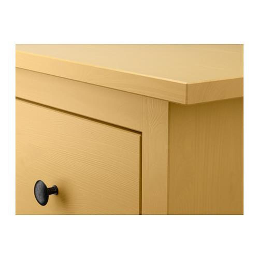 Ikea Hemnes Ladekast Zwart.Hemnes Ladekast Met 3 Laden Geel 703 113 05 Recensies Prijs