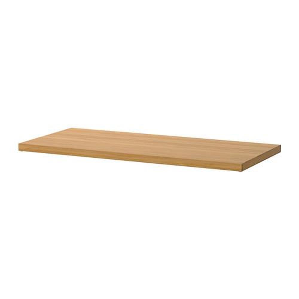 Mensole In Legno Ikea mensola elvarli in bambù 80x36 cm