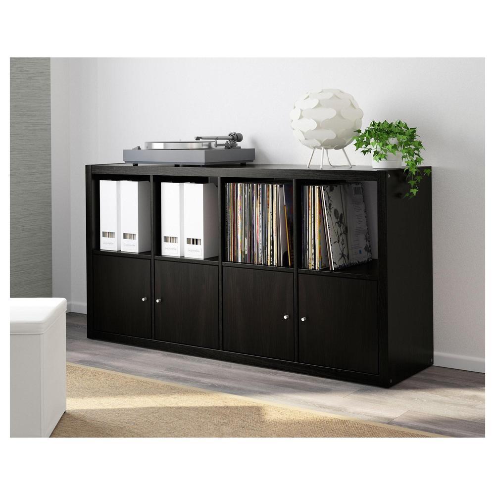 Ikea Expedit Boekenkast Zwart Bruin.Callax Rack Zwart En Bruin 703 795 74 Recensies Prijs Waar