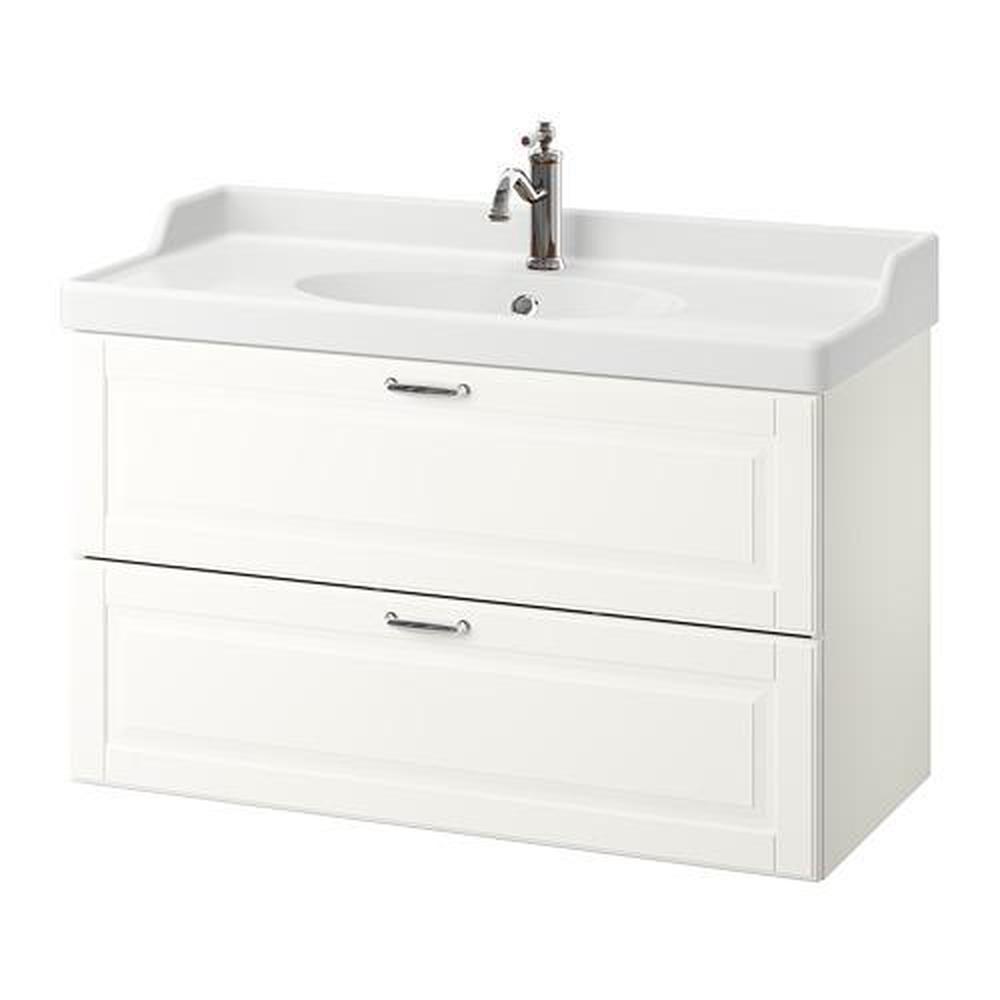 GODMORGON / RÄTTVIKEN meuble évier avec tiroir 12