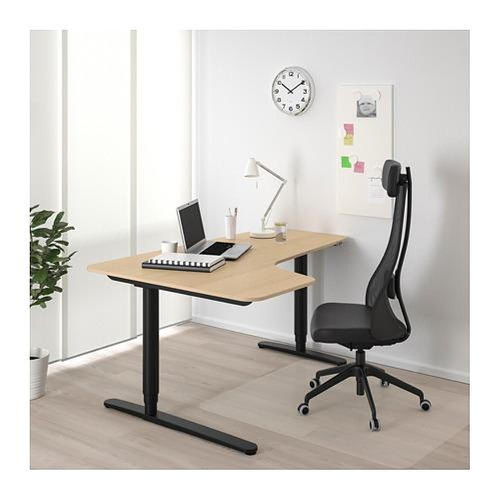 BEKANT hjørner skrivebord løve overføring (792.822.71