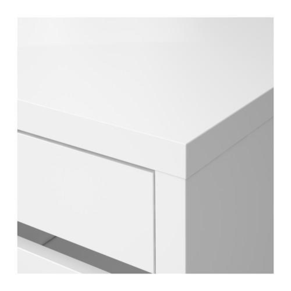 MICKE skrivebord hvit 105x50x75 cm (802.130.74