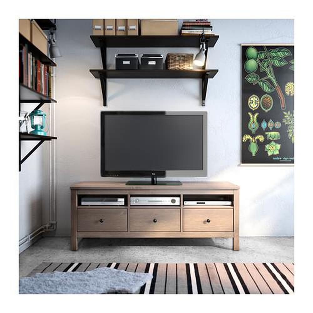 HEKTAR vägg soffit lampa med klämma mörkgrå