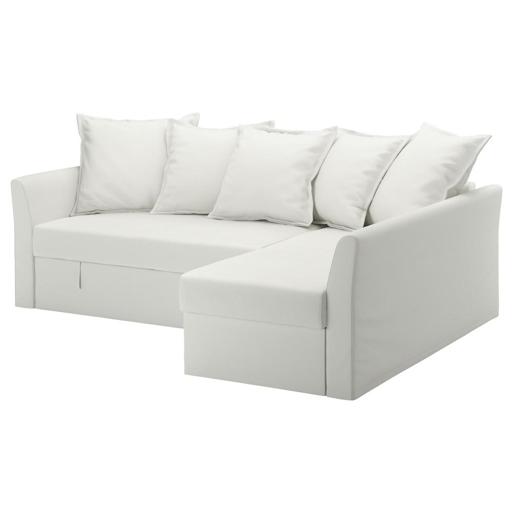 Corner Sofa Bed Ransta White