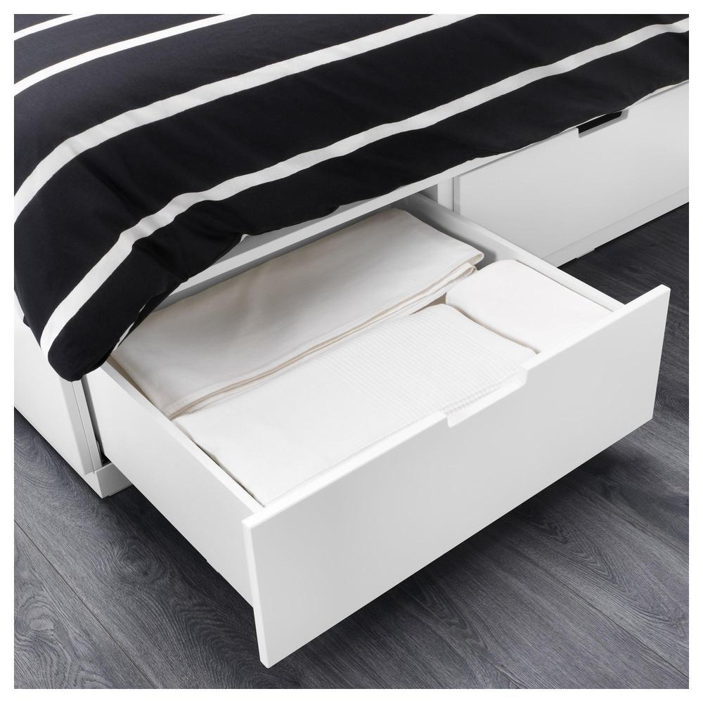 NORDLEY Estructura de cama con cajones - 180x200 cm (803.613.90 ...