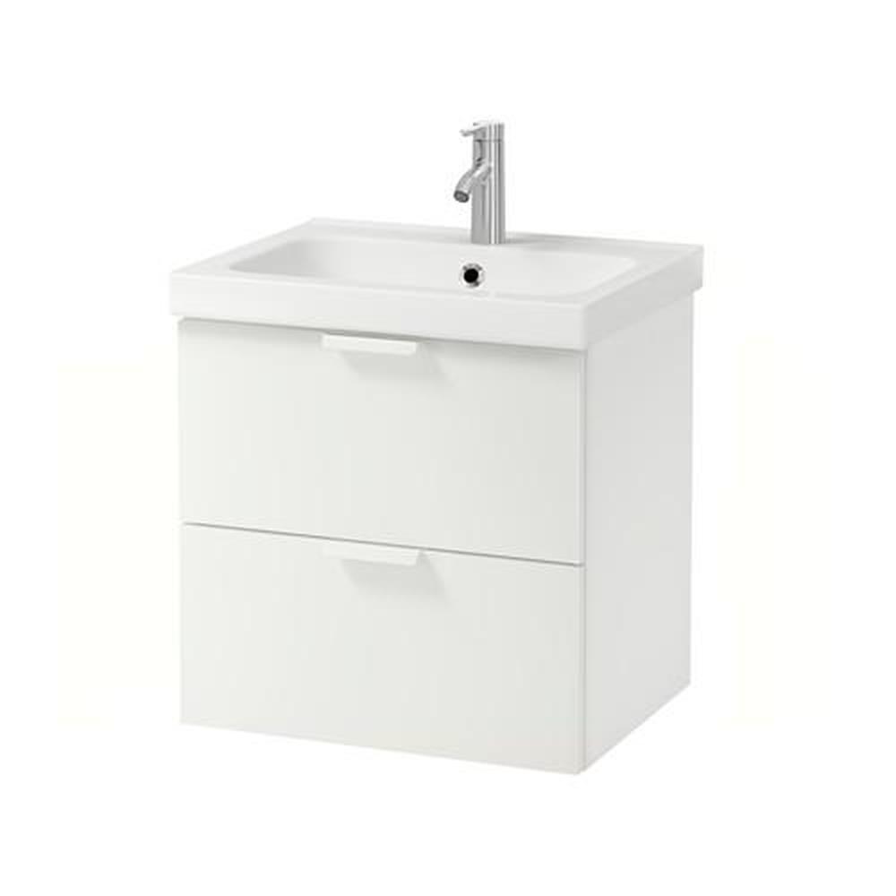 ODENSVIK / GODMORGON meuble évier avec tiroir 12 blanc 12x12x12 cm