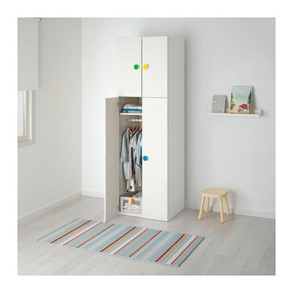 Adesivi Armadio Ikea armadio stuva / fÖlja 4-porta bianca