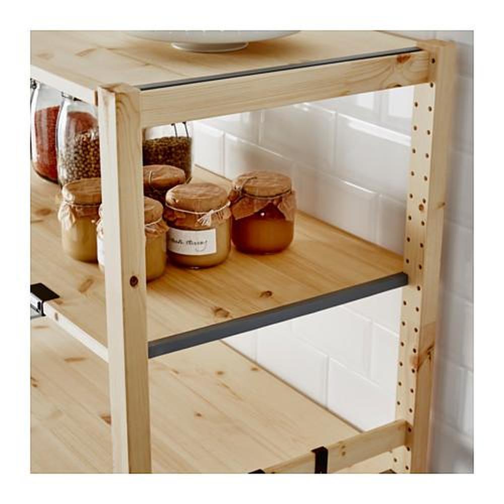 Ikea Scaffali Legno Ivar scaffale ivar pino 83x50 cm