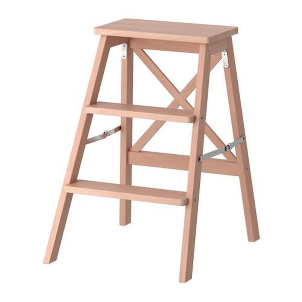 Fabulous Bekvam Stepladder 3 Steps Beech 901 904 11 Reviews Machost Co Dining Chair Design Ideas Machostcouk