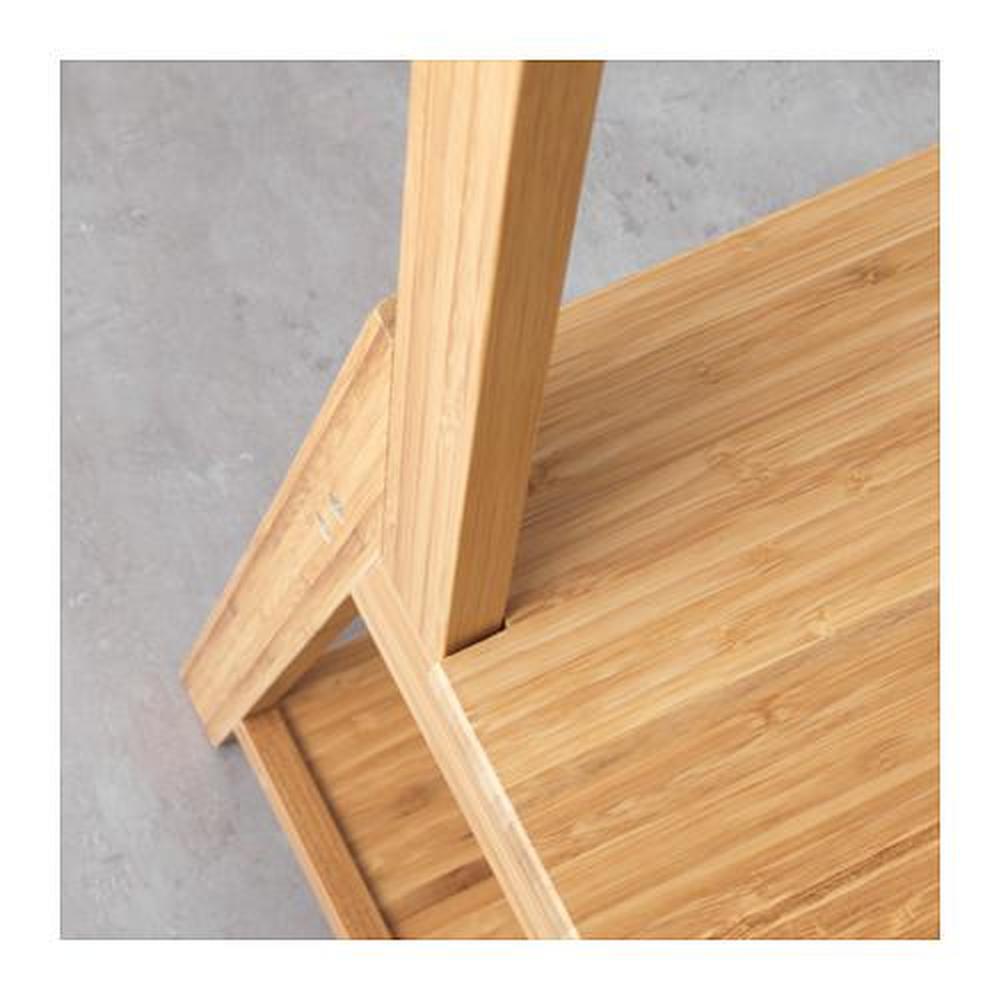 RÅGRUND Törülközőtartó szék bambusz