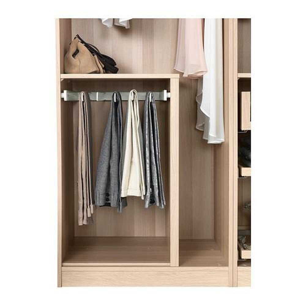KOMPLEMENT porta pantaloni estraibile bianco 43.1x56.9x4.5 cm