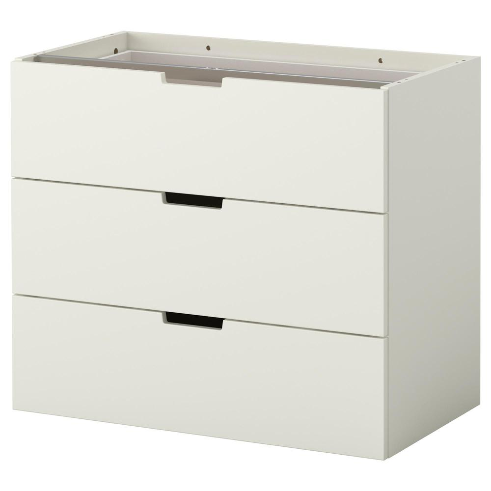 nordley modular chest of drawers with 3 drawers