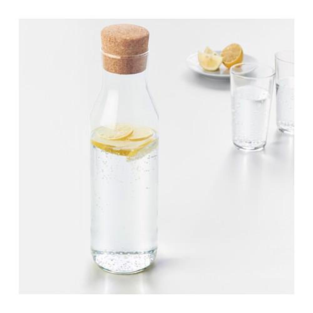 Decanter ikea 365 con tappo in sughero trasparente recensioni prezzo dove - Bottiglie vetro ikea ...