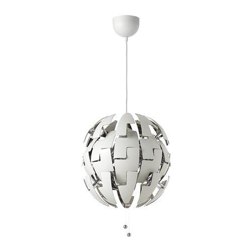 Lampadari Da Camera Matrimoniale Ikea lampada a sospensione ikea ps 2014 bianca / argento