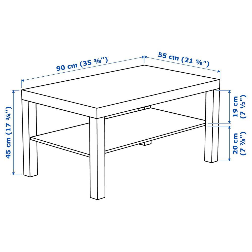 Lakk Table Basse En Chene Blanchi 903 364 56 Commentaires