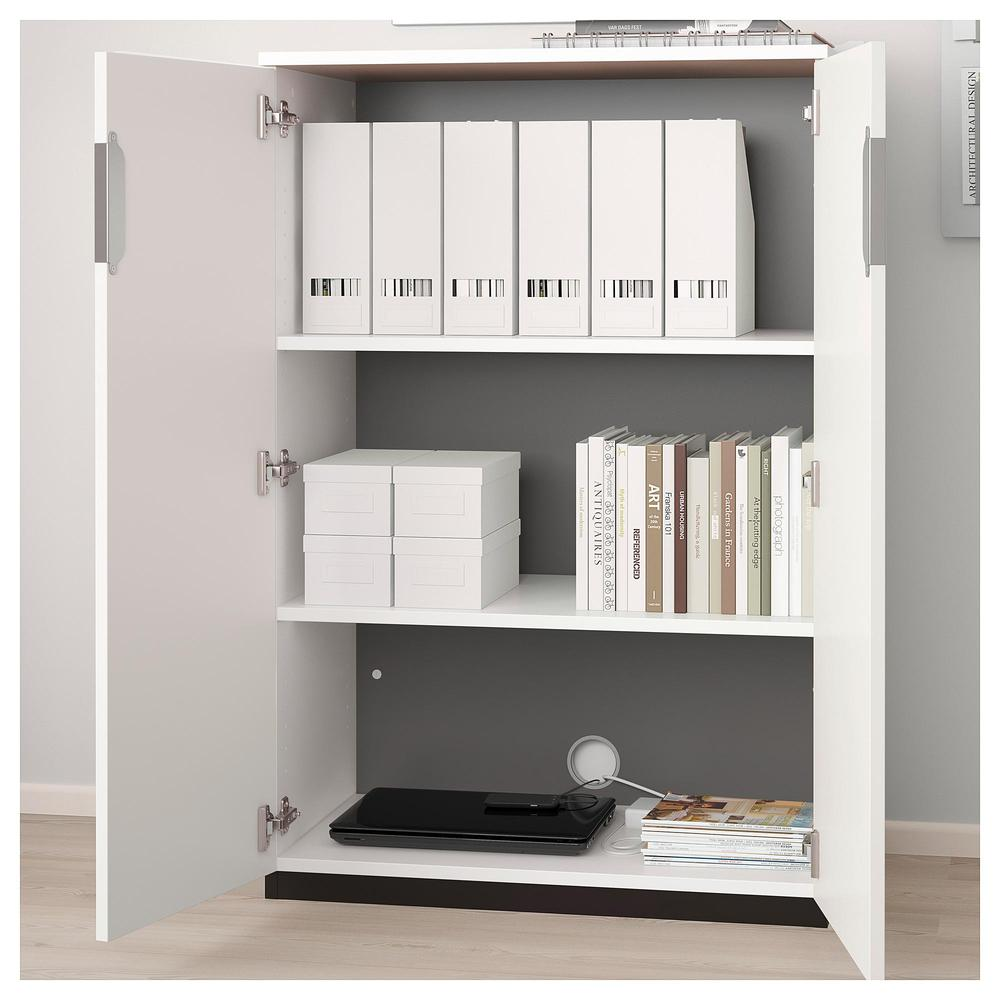 Galant Cabinet With Doors White 903 368 52 Reviews Price