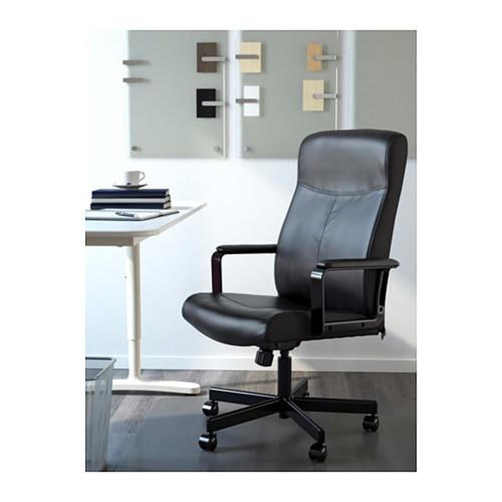 MILLBERGET Working Chair   Bumstad Black