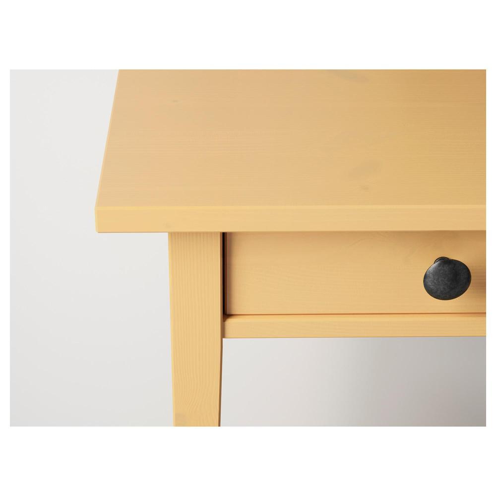 Table HEMNES chevet de Jaune k0nOPXN8w