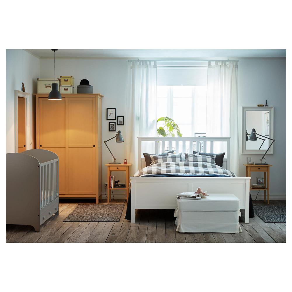 HEMNES Bedside Table - gul (903.686.78) - anmeldelser, pris, hvor de ...