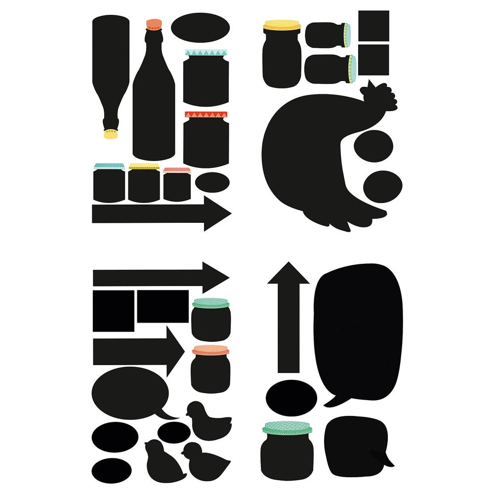 Dekorative klistremerker | Fruugo NO