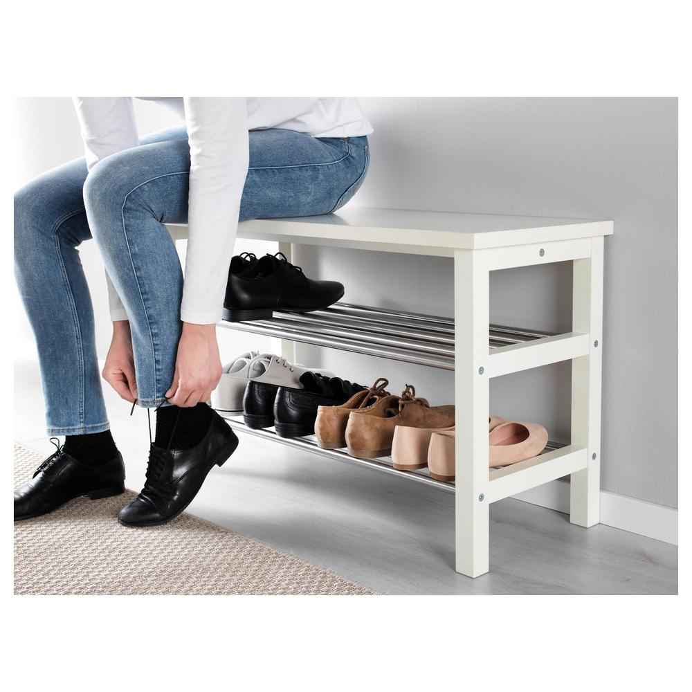 chusig bench with shelf for shoes