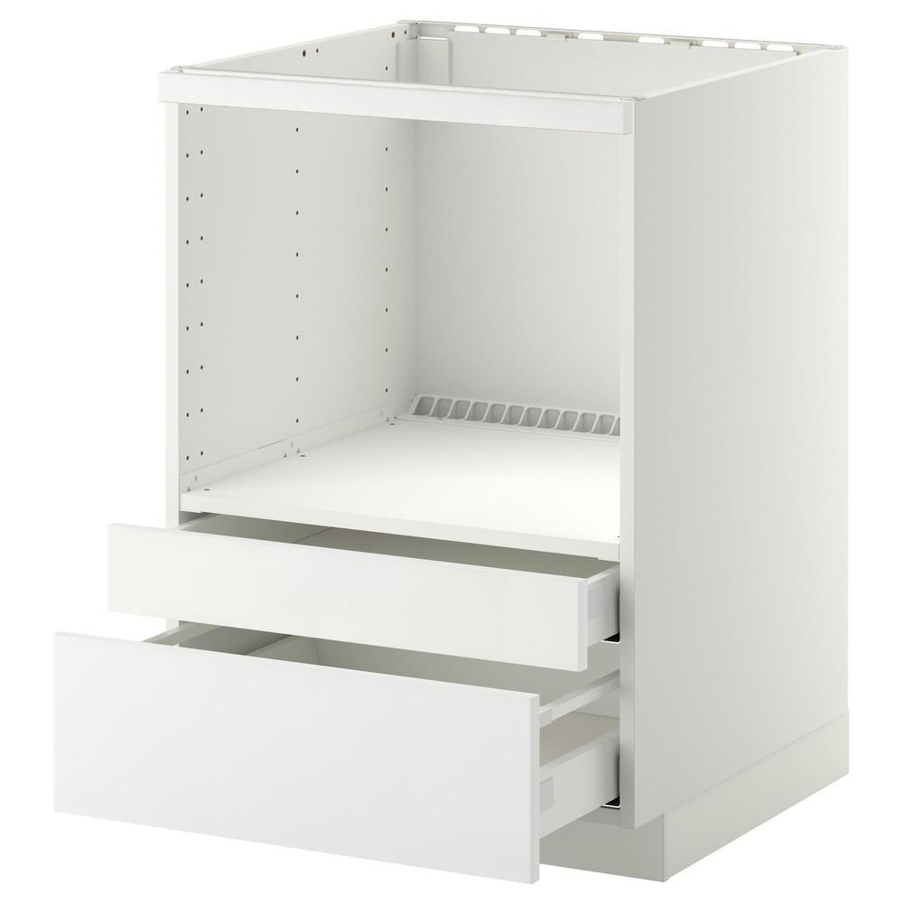 Meuble Micro Onde Ikea mÉthode / maximer meuble sur pied / boîte à micro-ondes / tiroirs - blanc,  ringult blanc brillant
