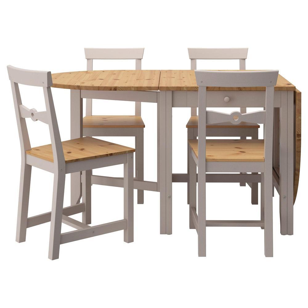 GEMLEBI 4 bord och stolar