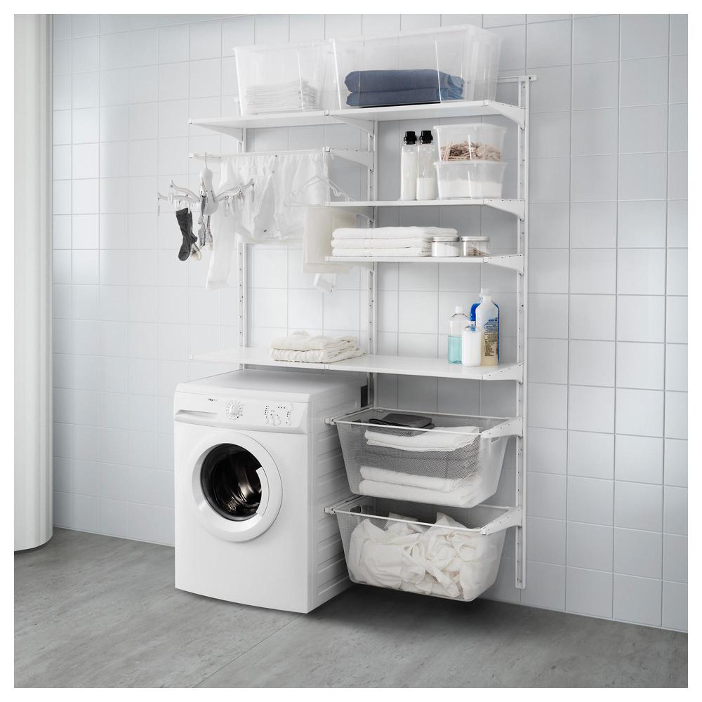 Appendere Asciugatrice Al Muro algot fianco del pneumatico / mensola / asciugatrice