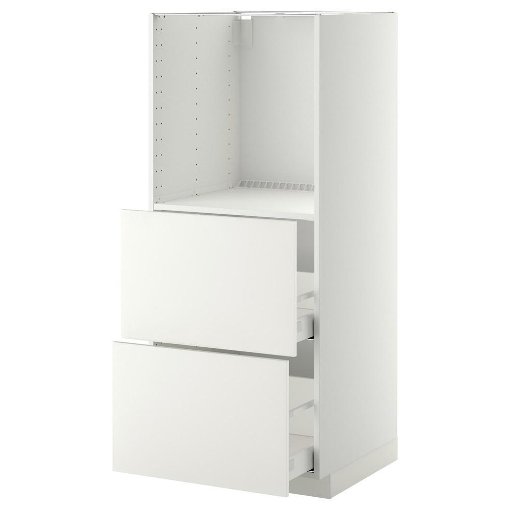 Cassettiera Per Armadio Ikea method / maximera armadio alto con cassetti 2 d / forno - bianco, bianco  heggebi