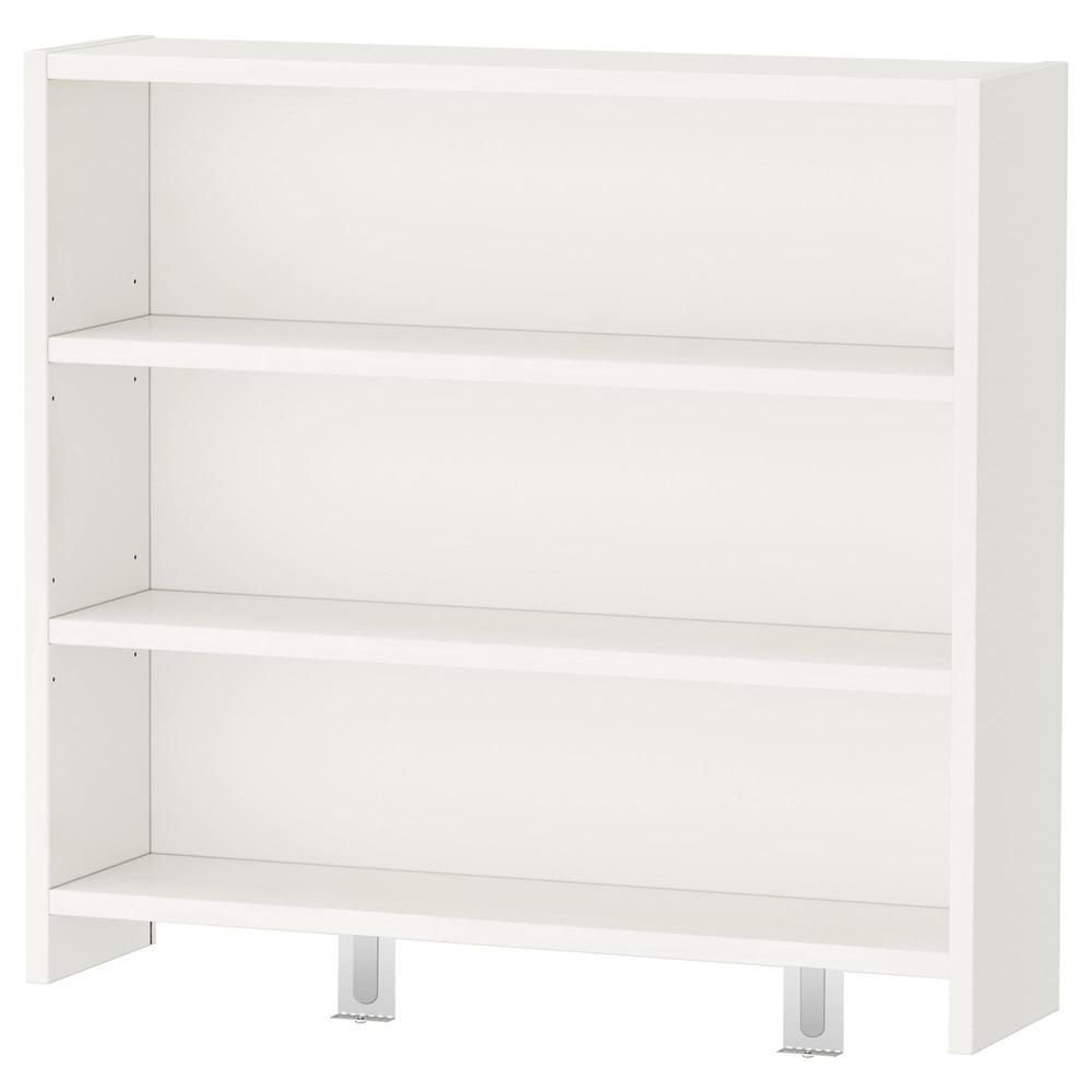 PAUL skrivebord med hyller hvit (991.290.04) vurderinger