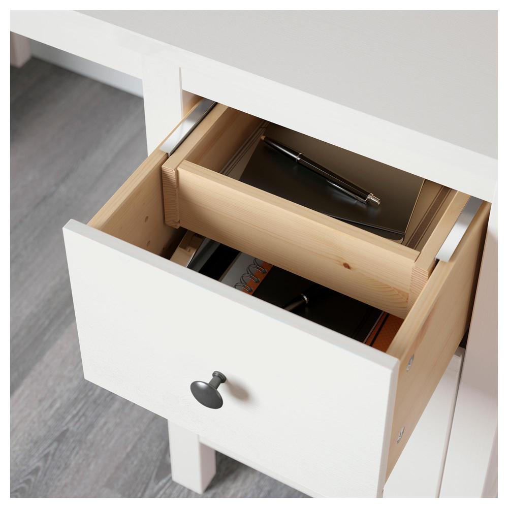 hemnes schreibtisch. Black Bedroom Furniture Sets. Home Design Ideas