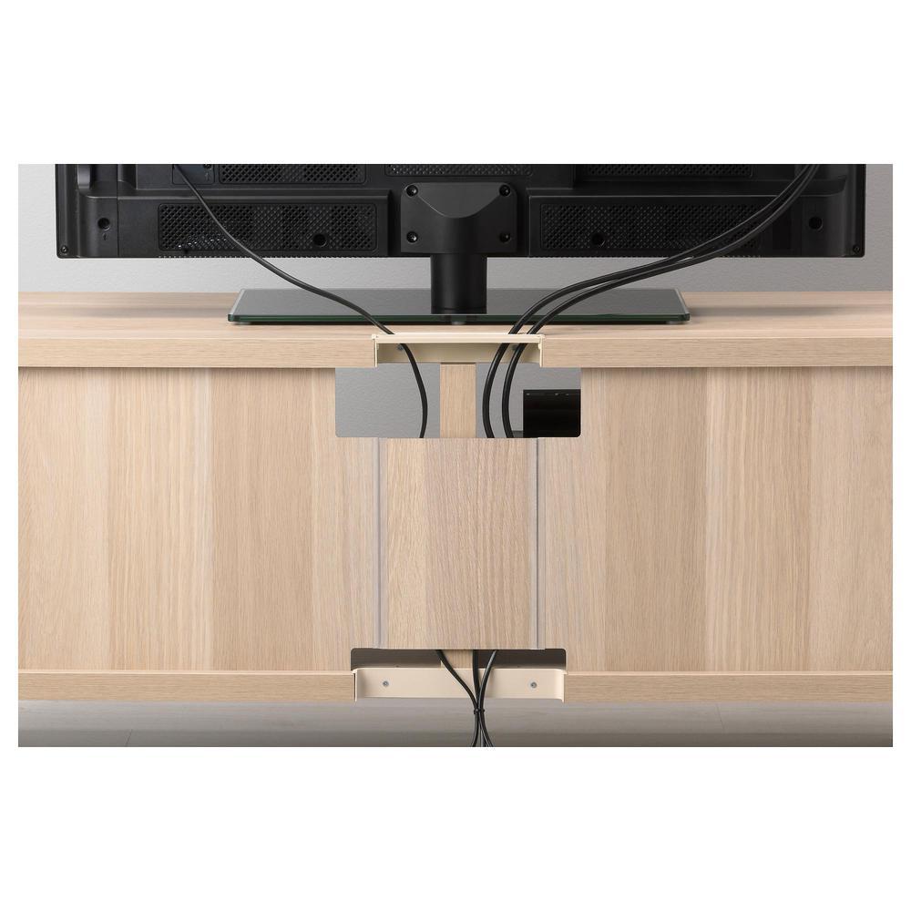 besto tv schrank kombination gebleicht eiche lappviken wei schubladen f hrer push ups. Black Bedroom Furniture Sets. Home Design Ideas