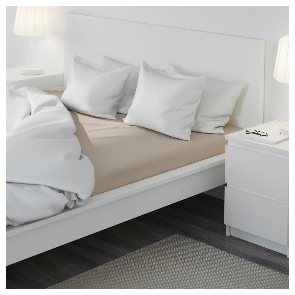 Malm Cadre De Lit Haut 160x200 Cm Lura Blanc 292 110 16