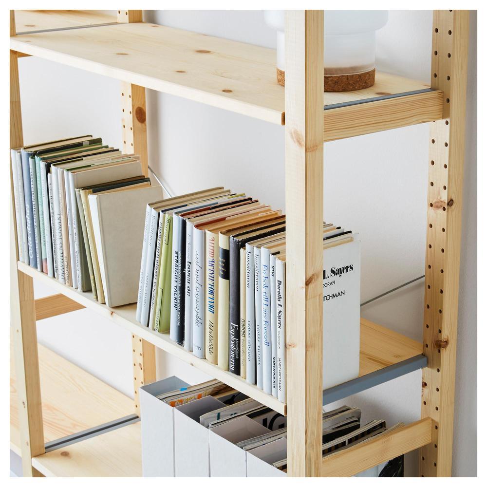 Ikea Scaffali Legno Ivar ivar 3 sezioni / scaffali - 259x30x226 cm