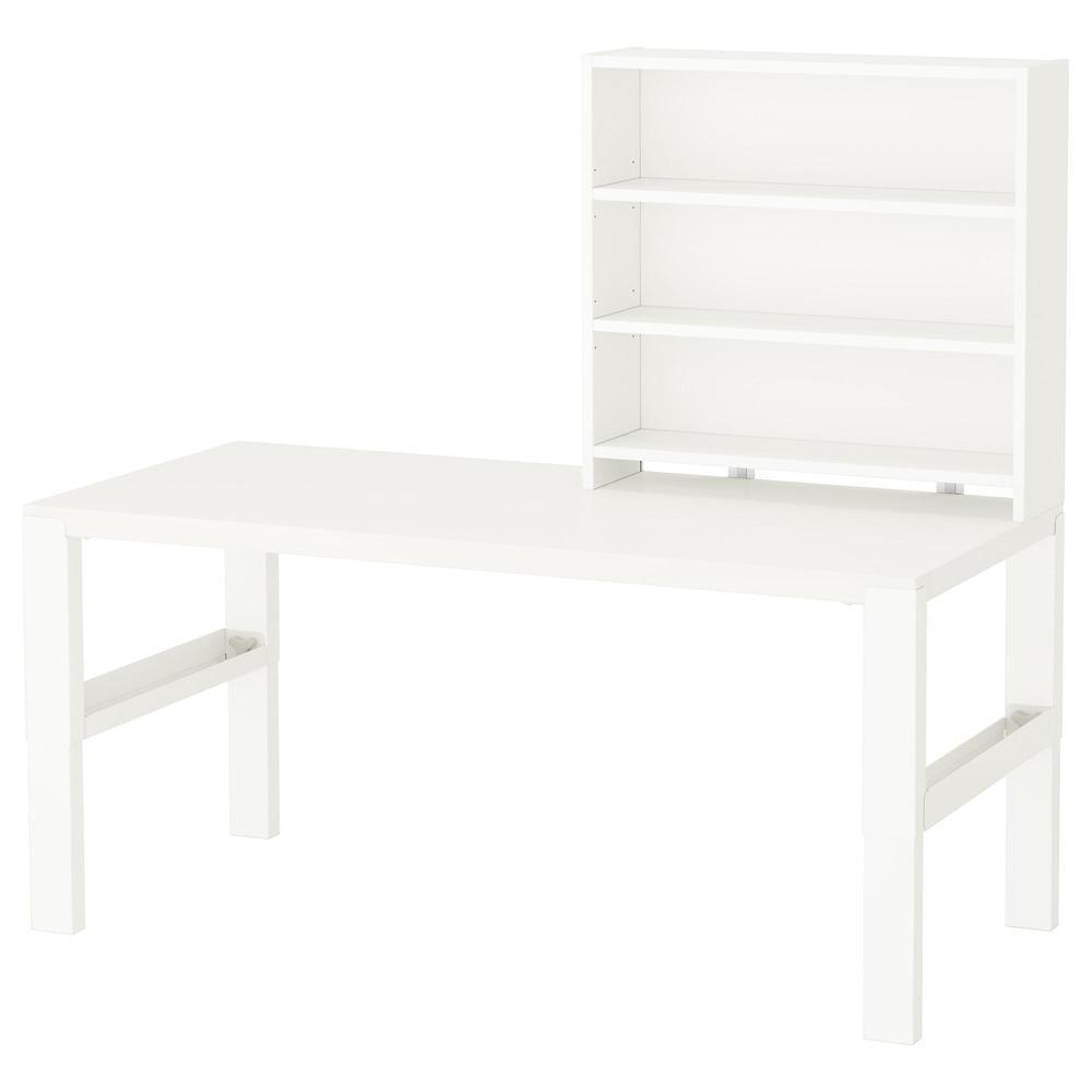 PAUL skrivebord med hyller hvit (292.512.72) vurderinger