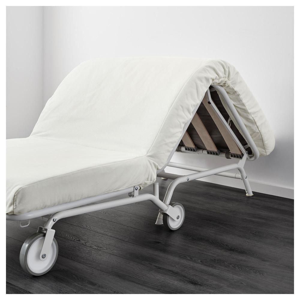 Ikea ps levos armchair bed gresbu white gresbu white for Ikea armchair bed