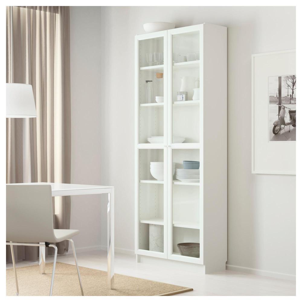 billy / oxberg rack - weiß, 80x202x30 cm (391.294.79) - bewertungen