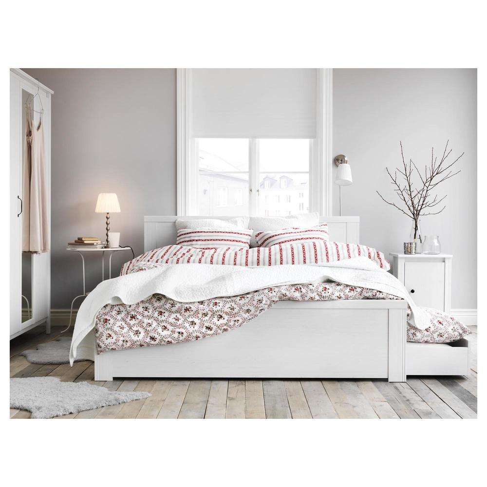 Brusali Rama łóżka Z Szufladami 4 140x200 Cm Lurøy