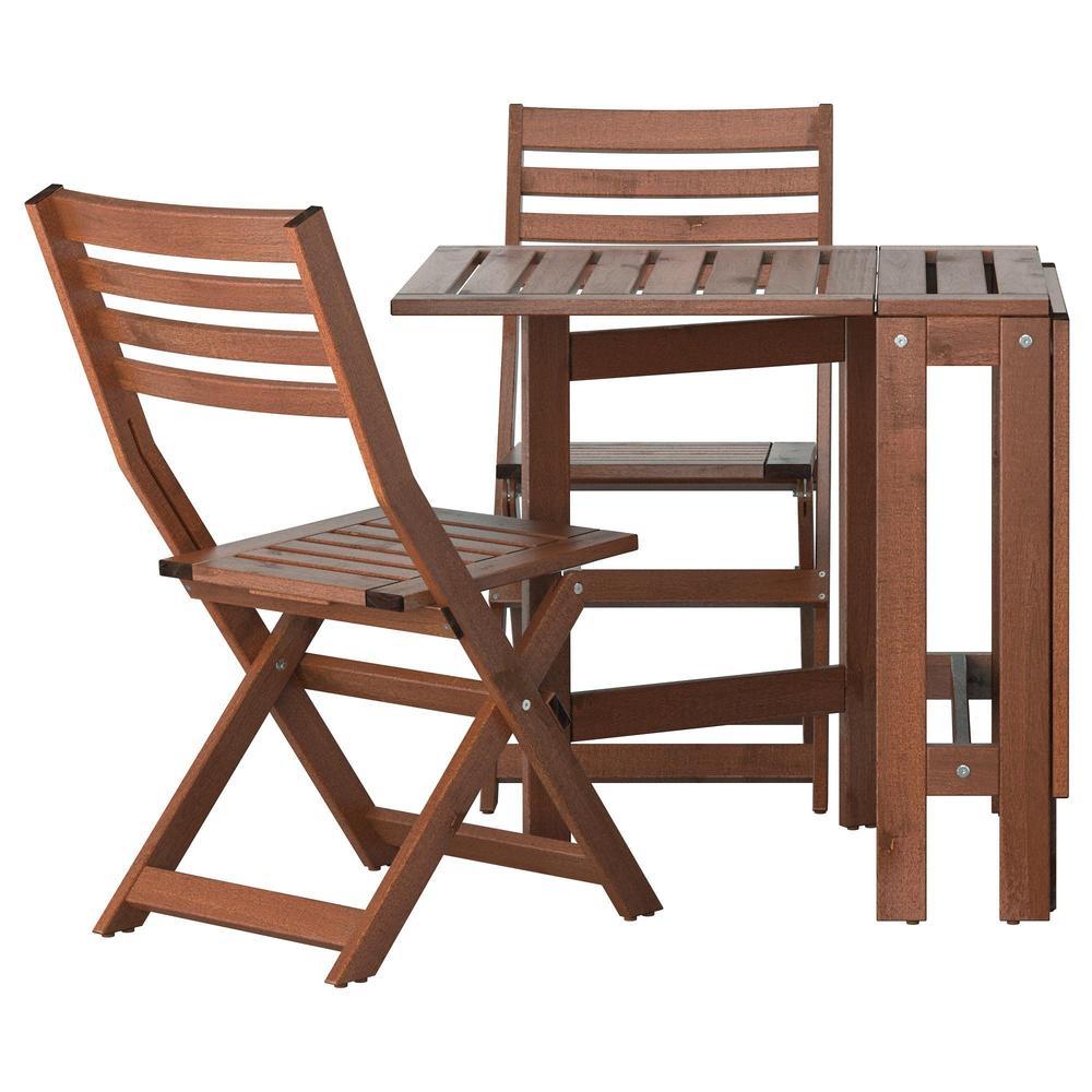 Ikea Sedie Giardino Pieghevoli.Eplaro Table 2 Sedia Pieghevole Per Giardino Eplaro Brown