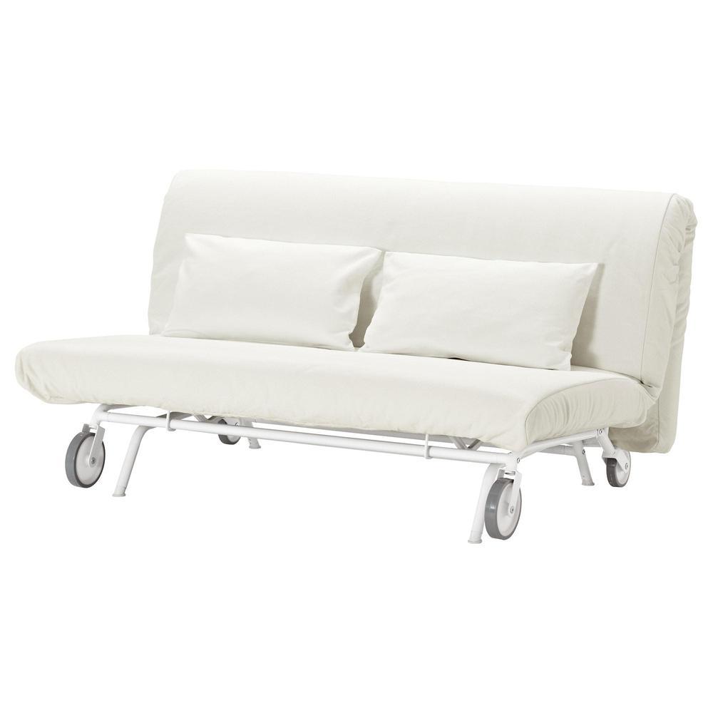 Divani In Legno Ikea.Divano Letto Ikea Ps Lyvos 2 Gresbu Bianco 392 825 17