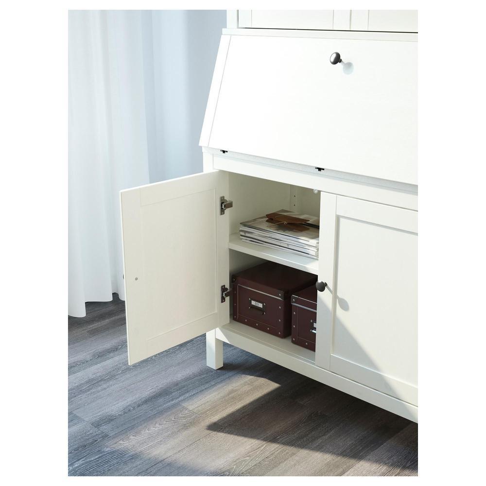 Ongebruikt HEMNES Bureau with additional module - white stain (399.328.35 GW-13